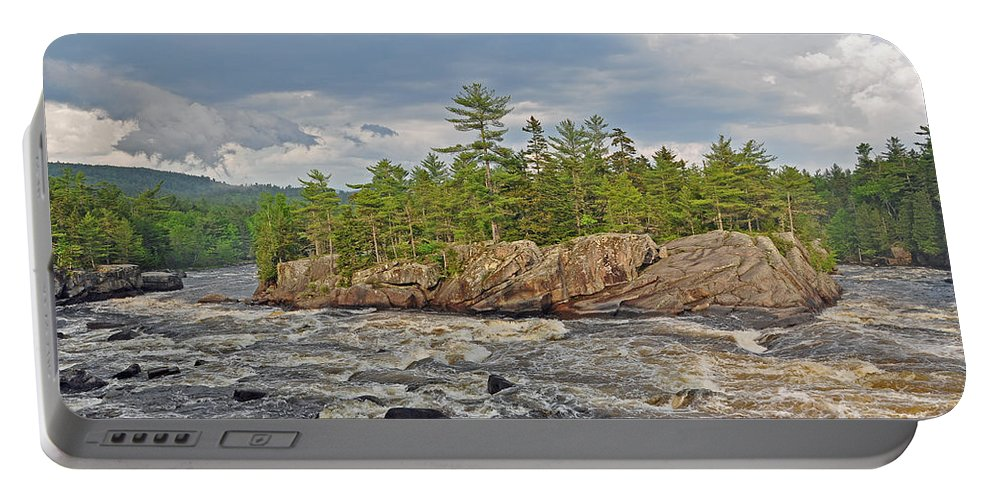 Crib Works Portable Battery Charger featuring the photograph Crib Works by Glenn Gordon
