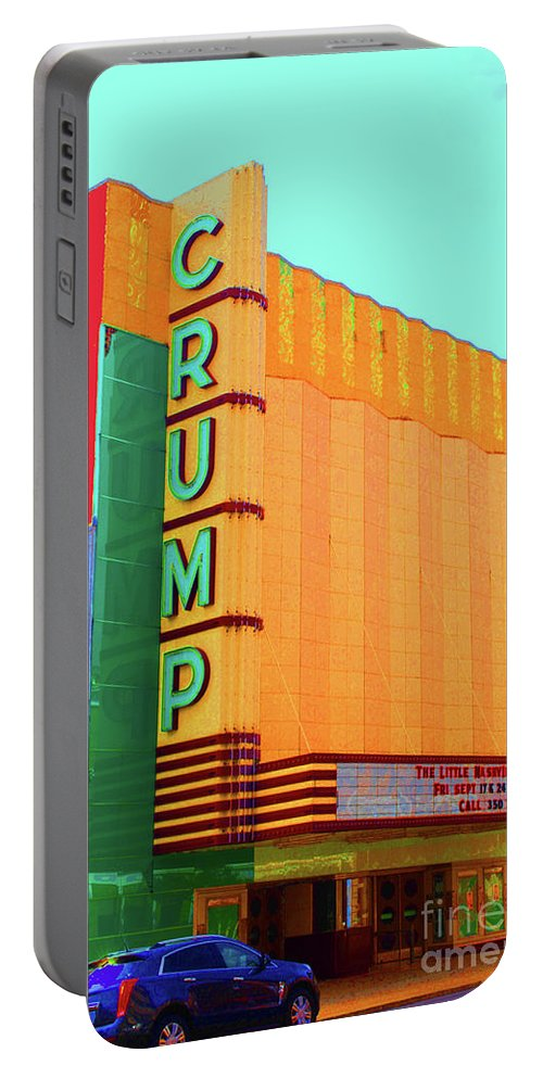 Crump Portable Battery Charger featuring the photograph Crump Color by Jost Houk