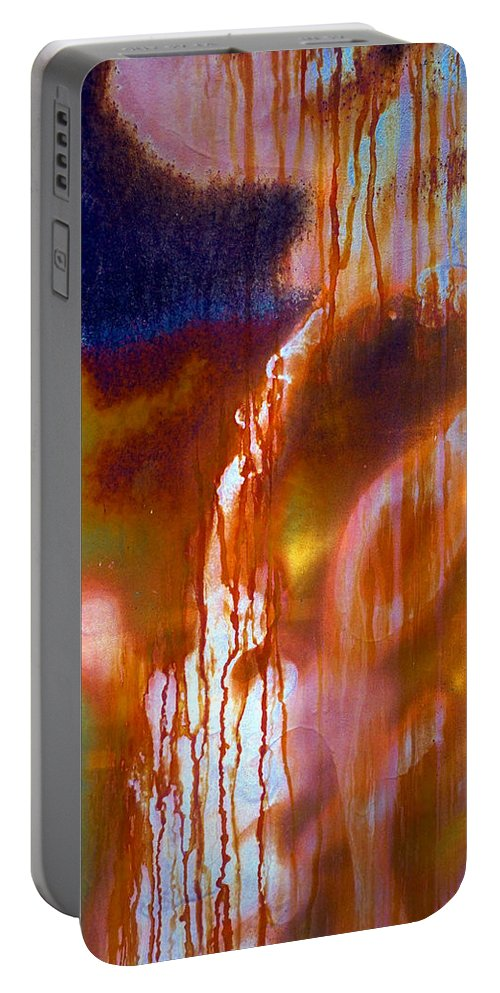Skip Portable Battery Charger featuring the photograph Cry Me A River by Skip Hunt