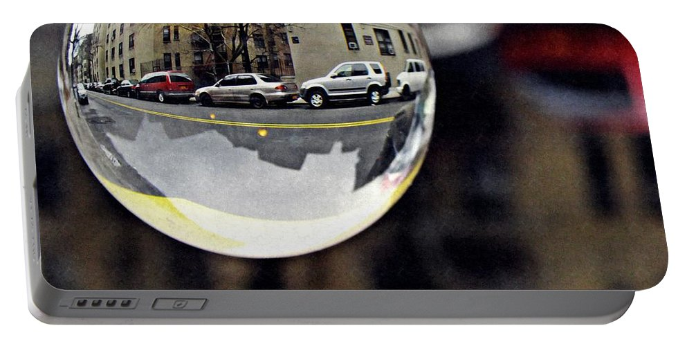 Crystal Portable Battery Charger featuring the photograph Crystal Ball Project 89 by Sarah Loft