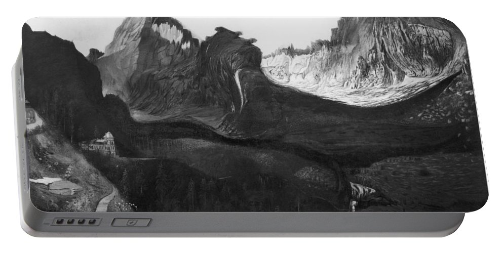 1904 Portable Battery Charger featuring the photograph Csontvary: Hight Tatras by Granger
