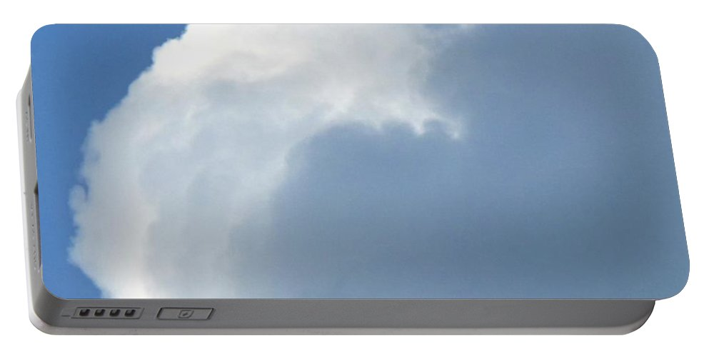 Cloud Portable Battery Charger featuring the photograph Cumulus Nimbus by Ian MacDonald