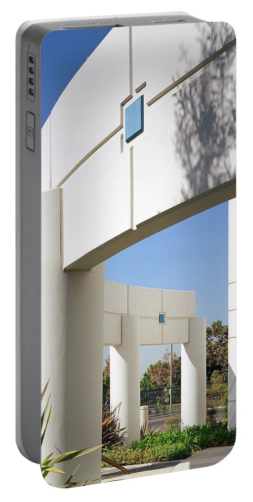 Architecture Portable Battery Charger featuring the photograph Curvature by Kelley King