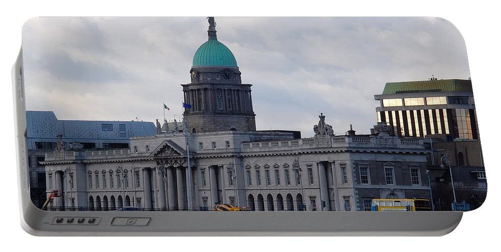 Custom House Portable Battery Charger featuring the photograph Custom House by John Hughes
