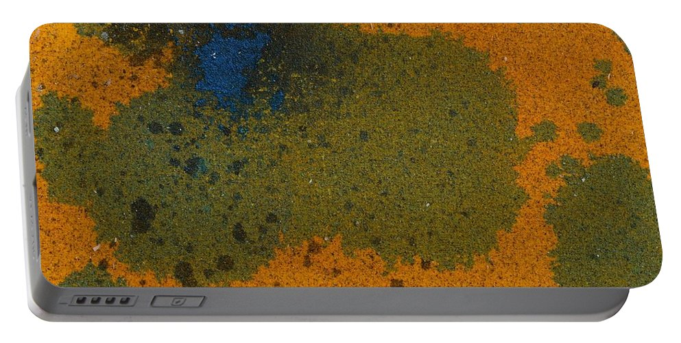 Sand Acrylics Portable Battery Charger featuring the mixed media Daily Abstraction 218012901 by Eduard Meinema