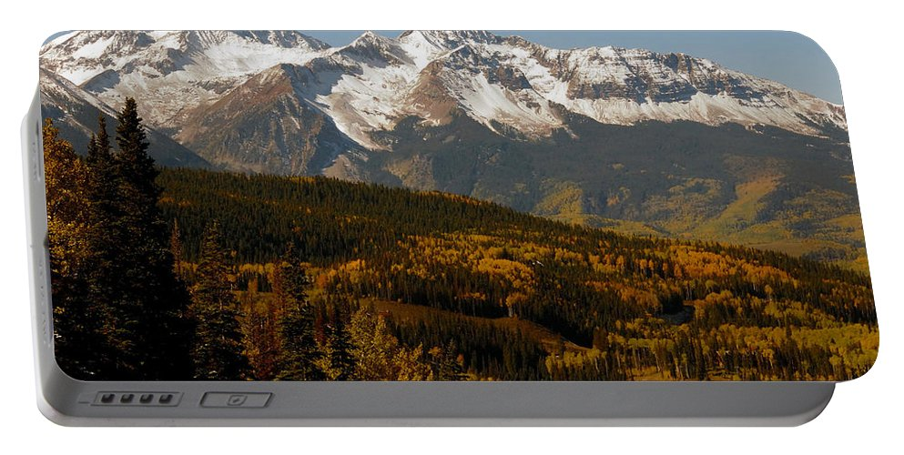 San Juan Mountains Colorado Portable Battery Charger featuring the photograph Dallas Divide by David Lee Thompson