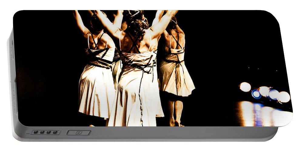 Dance Portable Battery Charger featuring the photograph Dance - Y by Scott Sawyer