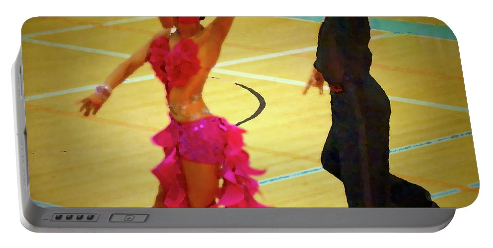 Lehtokukka Portable Battery Charger featuring the photograph Dance Contest Nr 06 by Jouko Lehto