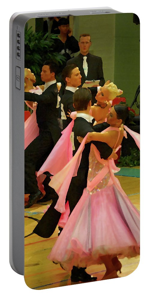 Lehtokukka Portable Battery Charger featuring the photograph Dance Contest Nr 16 by Jouko Lehto