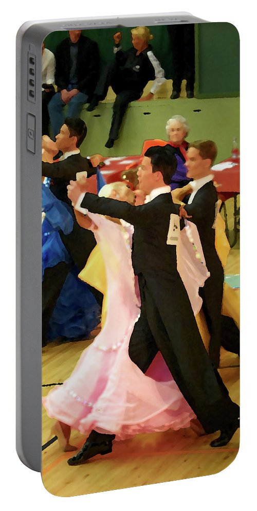 Lehtokukka Portable Battery Charger featuring the photograph Dance Contest Nr 18 by Jouko Lehto