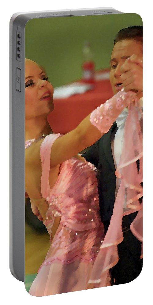 Lehtokukka Portable Battery Charger featuring the photograph Dance Contest Nr 19 by Jouko Lehto