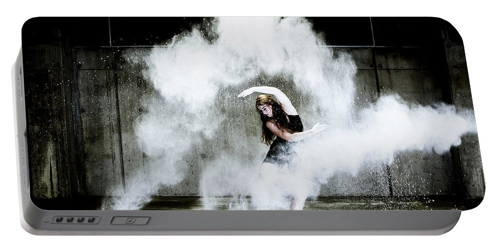 Dancer Portable Battery Charger featuring the photograph Dancer by Harold Vincent