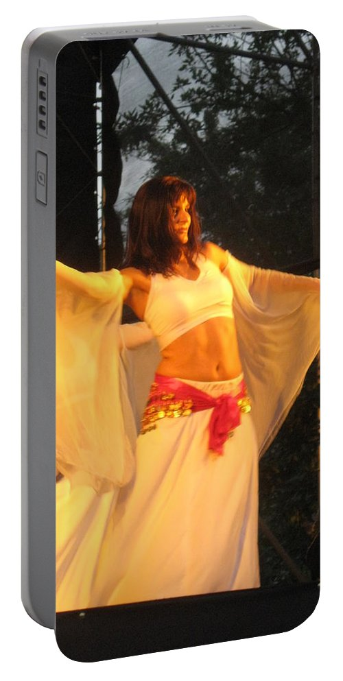 Portable Battery Charger featuring the photograph Dancer by Drawspots Illustrations