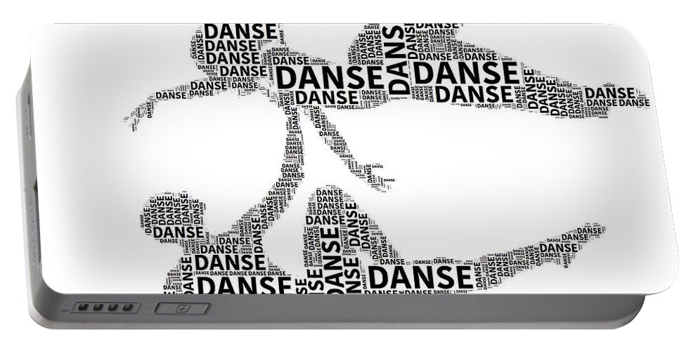 Alicegipsonphotographs Portable Battery Charger featuring the photograph Danse by Alice Gipson