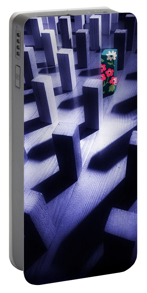 Extrovert Portable Battery Charger featuring the photograph Dare To Be Different by Mal Bray