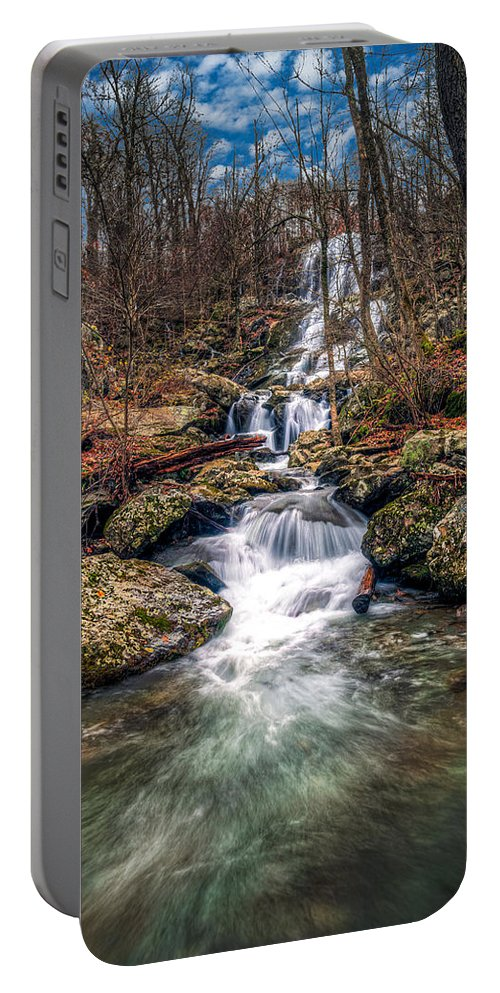 Fall Colors Portable Battery Charger featuring the photograph Dark Hollow Fall by Alfredo Alegrett