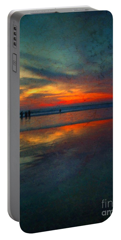Texture Portable Battery Charger featuring the photograph Dark Memories by Tara Turner