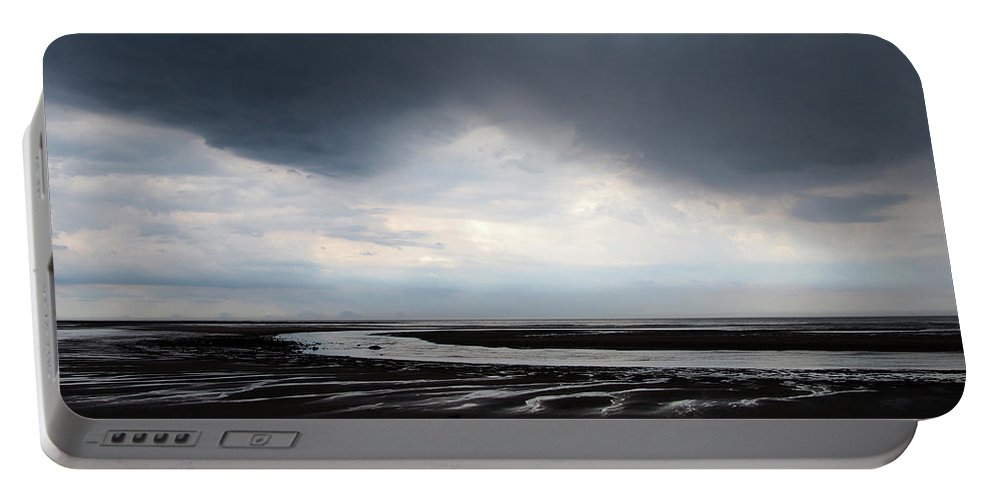 Cloud Portable Battery Charger featuring the photograph Darker Days by Philip Openshaw