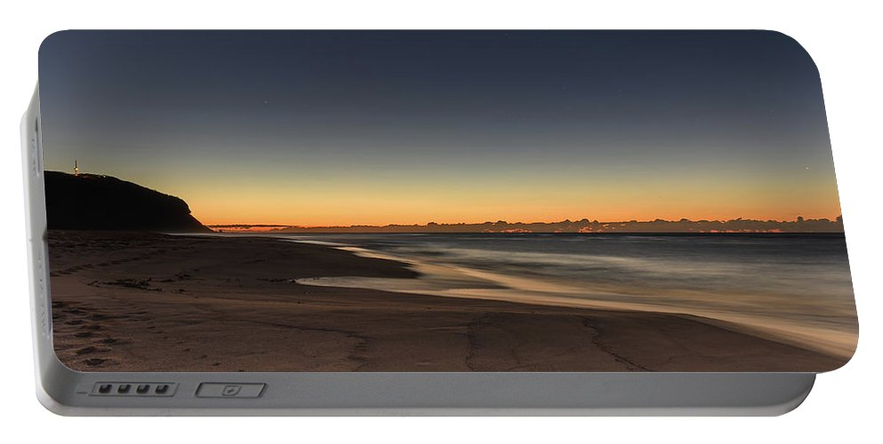 Australia Portable Battery Charger featuring the photograph Dawn And The Sea by Merrillie Redden