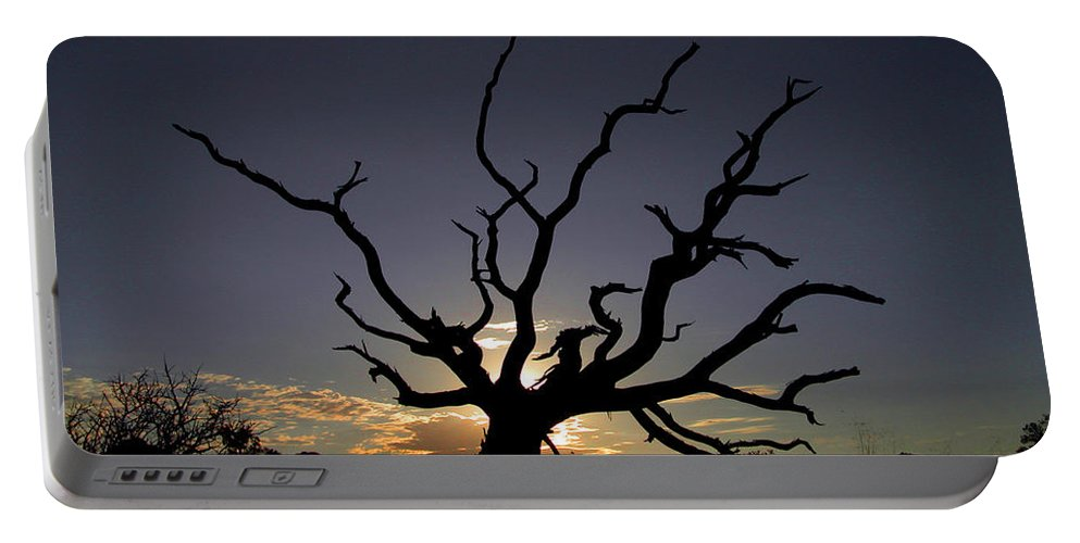 Sunrise Portable Battery Charger featuring the photograph Dawn by Patricia Bolgosano