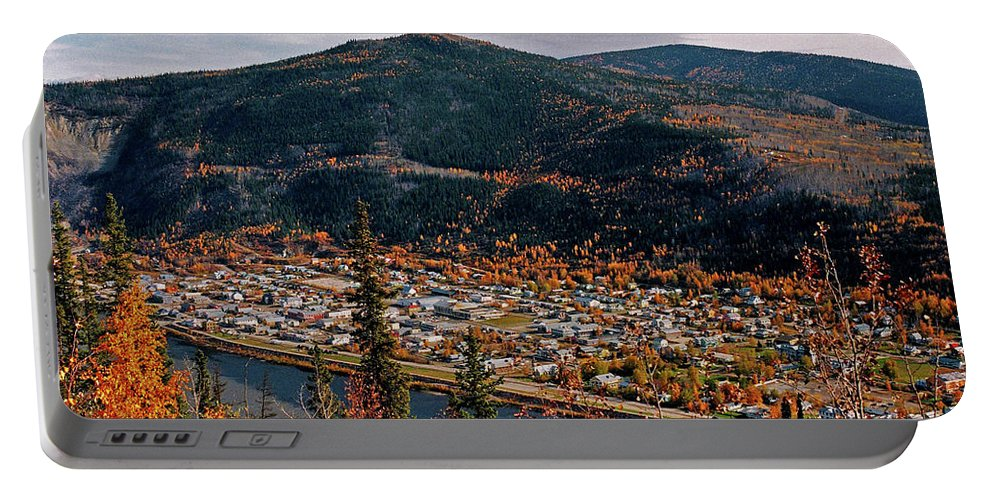 Canada Portable Battery Charger featuring the photograph Dawson City - Yukon by Juergen Weiss