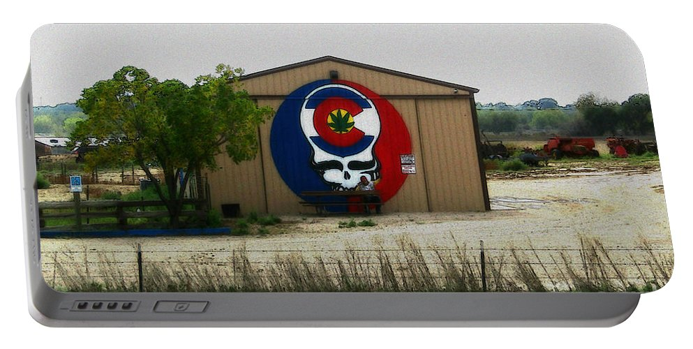 Portable Battery Charger featuring the photograph Dead Heads In Colorado by Kelly Awad