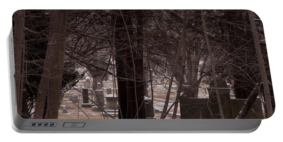 Photography Portable Battery Charger featuring the photograph Dead Of Winter by Steven Natanson