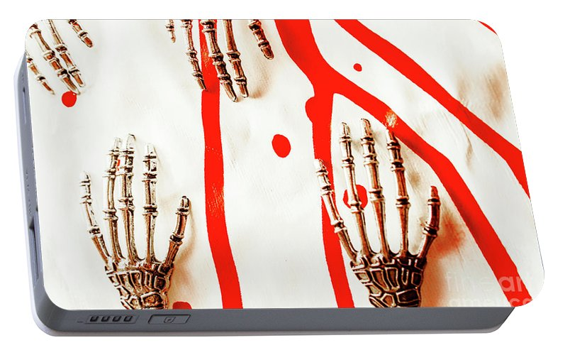 Robot Portable Battery Charger featuring the photograph Deadly Design by Jorgo Photography - Wall Art Gallery