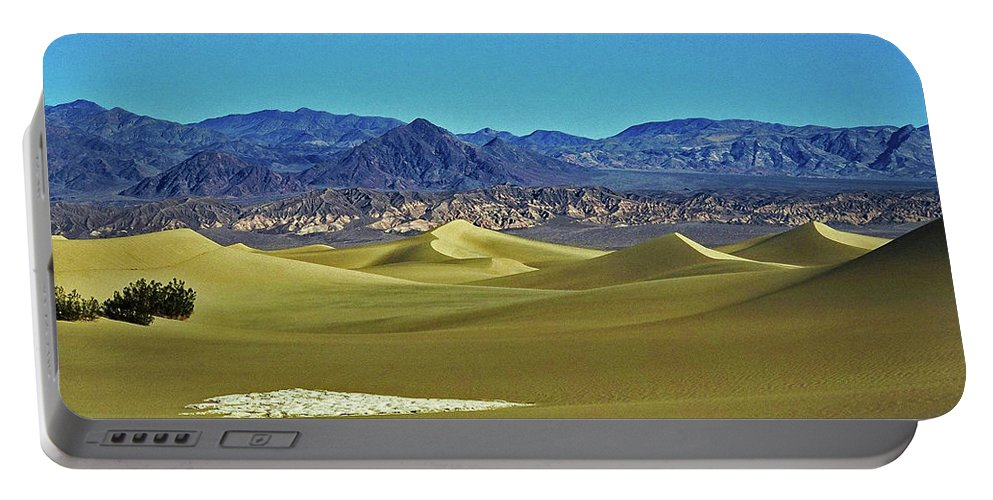 North America Portable Battery Charger featuring the photograph Death Valley by Juergen Weiss