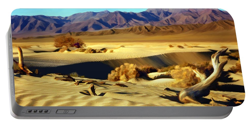 Death Valley Portable Battery Charger featuring the photograph Death Valley by Kurt Van Wagner