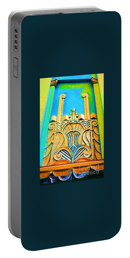 Art Deco Portable Battery Charger featuring the photograph Deco by Jost Houk
