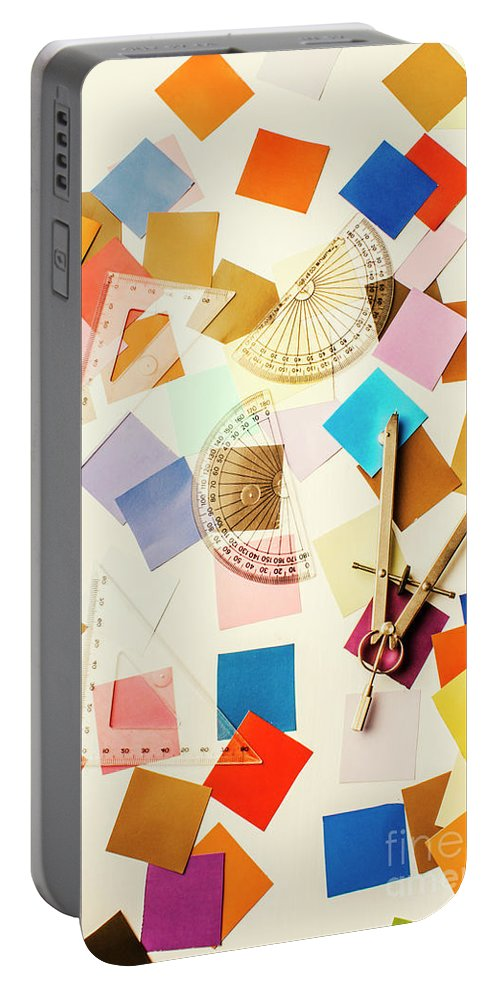 Design Portable Battery Charger featuring the photograph Decoration In Symmetry by Jorgo Photography - Wall Art Gallery