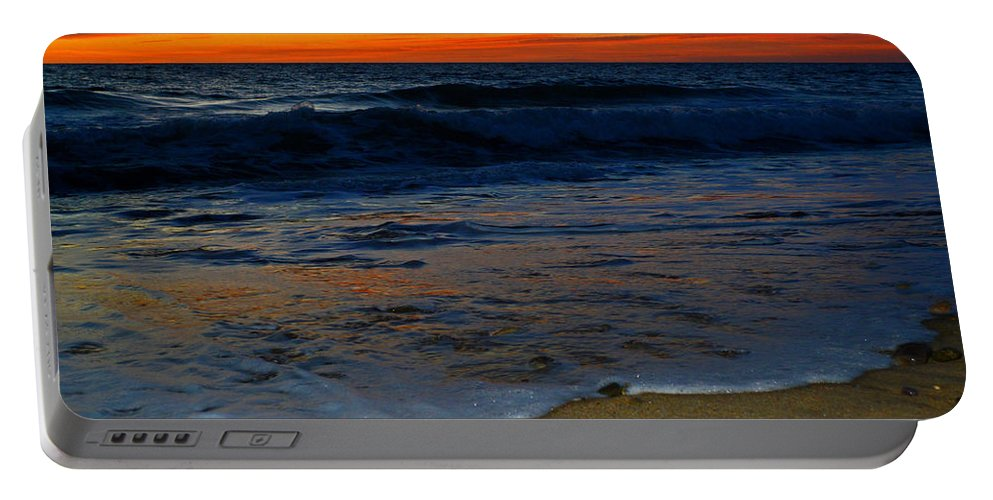 Ocean Portable Battery Charger featuring the photograph Deep Blue Sea by Dianne Cowen