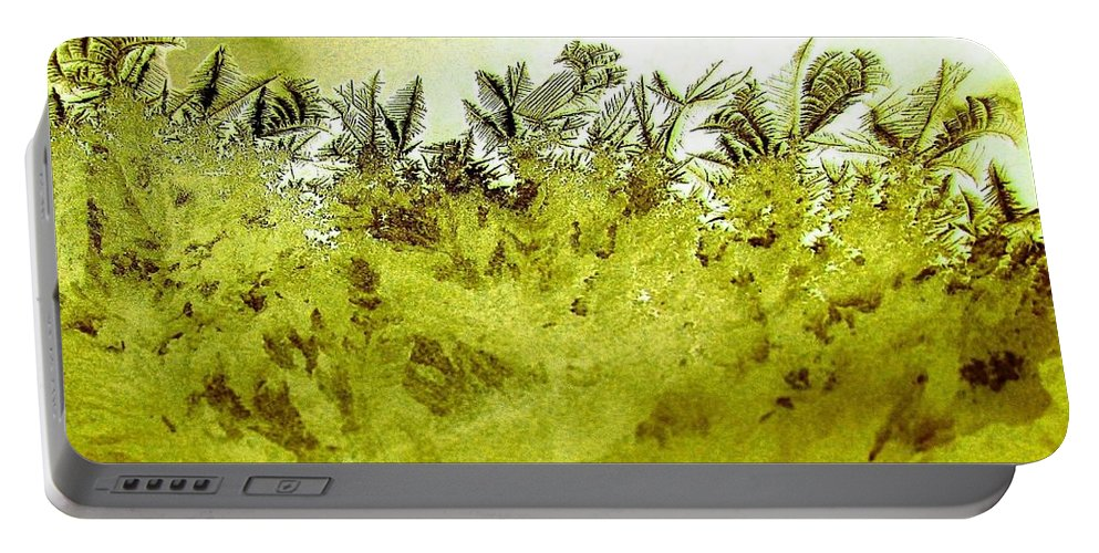Frost Portable Battery Charger featuring the digital art Deep In The Amazon by Will Borden