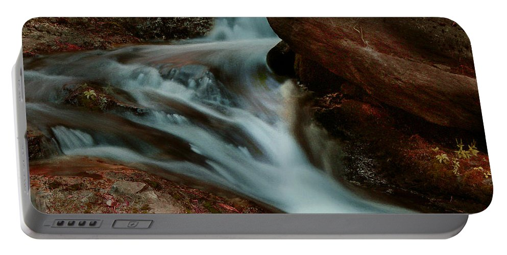 Creek Portable Battery Charger featuring the photograph Deer Creek 04 by Peter Piatt