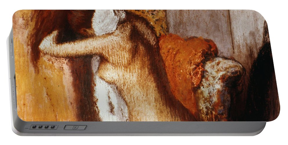 19th Century Portable Battery Charger featuring the photograph Degas: After The Bath by Granger