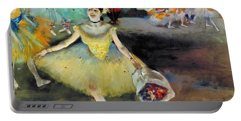 Aod Portable Battery Charger featuring the photograph Degas: Dancer, 1878 by Granger