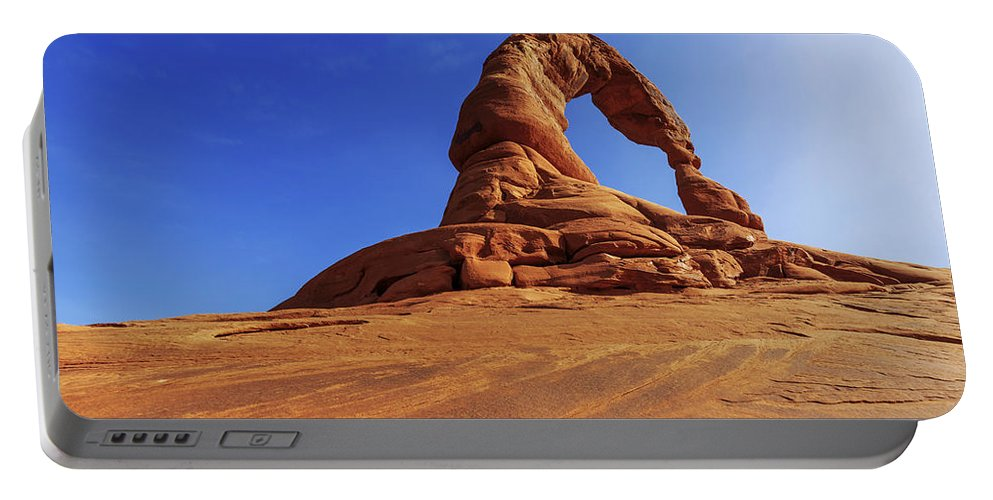 Nature Portable Battery Charger featuring the photograph Delicate Perspective by Chad Dutson