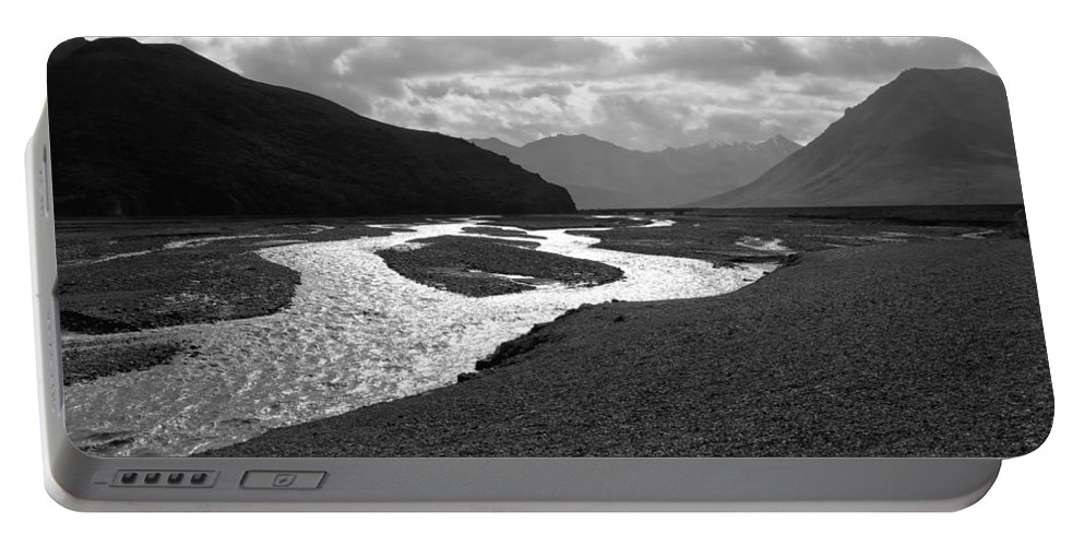 Alaska Portable Battery Charger featuring the photograph Denali National Park 5 by Dick Goodman