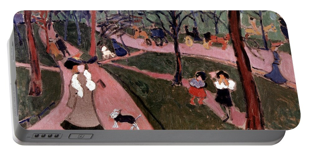 20th Century Portable Battery Charger featuring the photograph Derain: Hyde Park by Granger