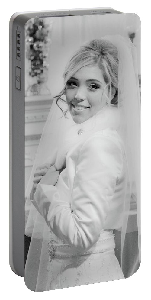Portable Battery Charger featuring the photograph Des by Trish Tritz