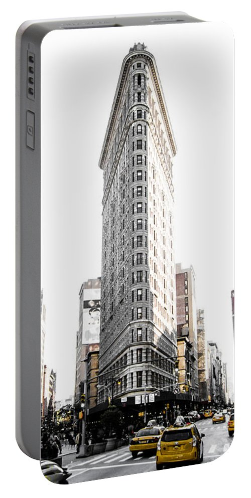 Street Portable Battery Charger featuring the photograph Desaturated New York by Nicklas Gustafsson