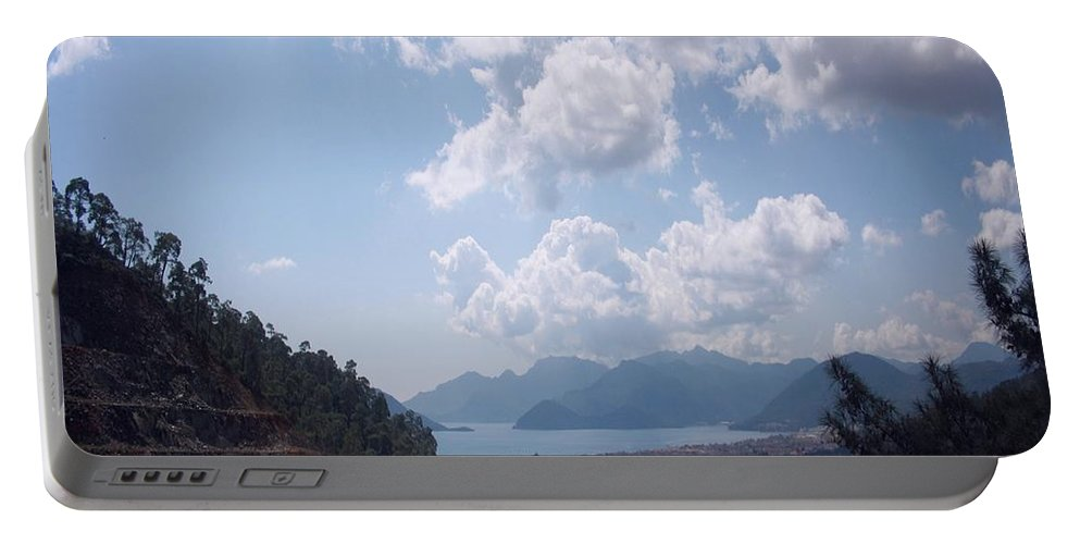 Marmaris Portable Battery Charger featuring the photograph Descent Into Marmaris by Taiche Acrylic Art