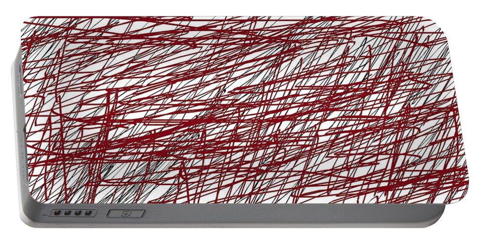 Design Portable Battery Charger featuring the digital art Design by Aj