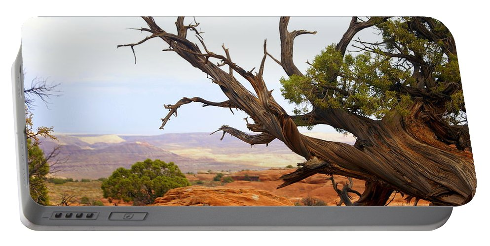Southwest Art Portable Battery Charger featuring the photograph Devils Garden 2 by Marty Koch
