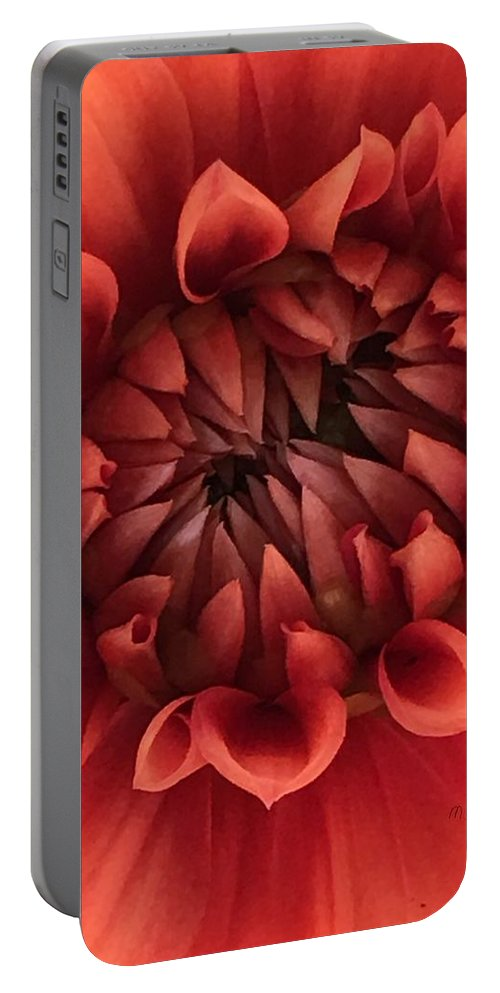 Dhalia Portable Battery Charger featuring the photograph Dhalia by Mary O