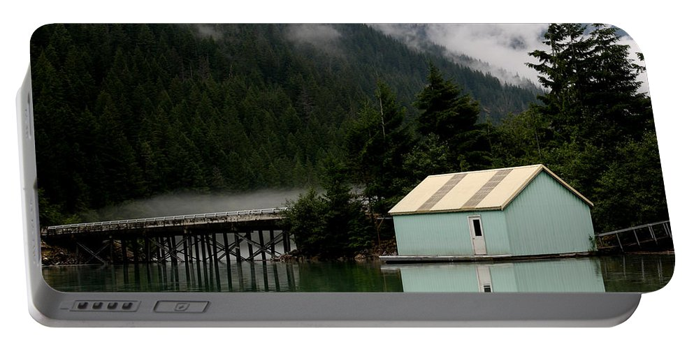 Washington Landscape Portable Battery Charger featuring the photograph Diablo Lake by David Salter