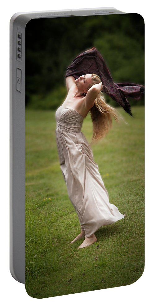 Diana Portable Battery Charger featuring the photograph Diana, Goddess Of The Hunt #2 by Yuri Lev