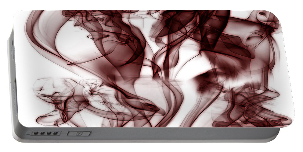 Clay Portable Battery Charger featuring the digital art Dilusional by Clayton Bruster