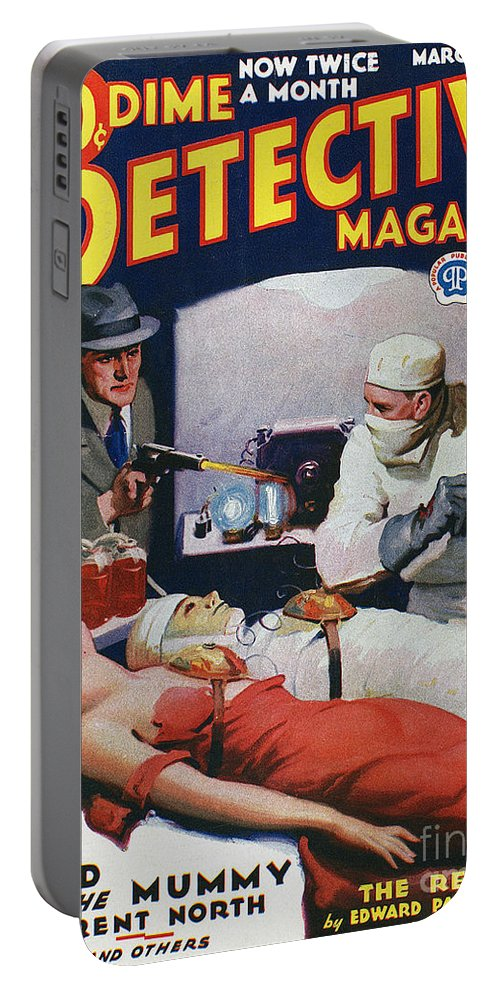 1933 Portable Battery Charger featuring the photograph Dime Novel 1933 by Granger
